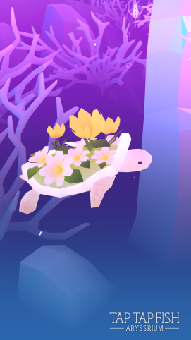 My adorable flower turtle.